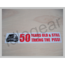 Classic Mini Decal -  50 years old and still...