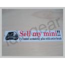 Classic Mini Decal - Sell my mini!