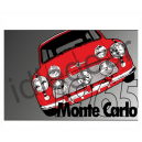 Monte 65 Classic Mini Canvas print
