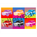 Pop Art Classic Mini Canvas Print