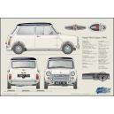 Classic Mini Profile print Cooper S mk2