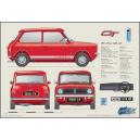 Classic Mini 1275GT Profile print