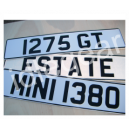 Metal Number Plate Sign