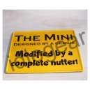 Classic Mini Metal Sign Designed by ...
