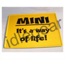 Classic Mini Metal Sign its a way of life