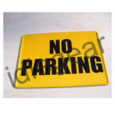 Metal No Parking Sign