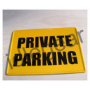 Metal Private Parking Sign