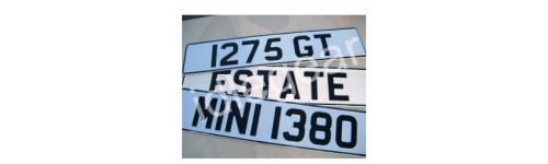 Number Plate Signs